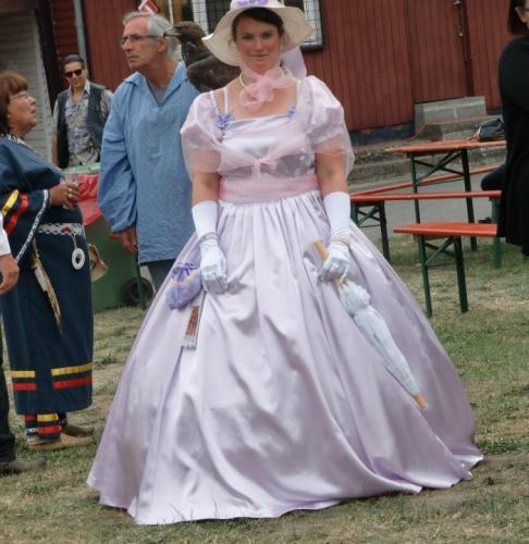Havré 2019 - Camp ... jolie mademoiselle des Etats du sud. (Désolé pour le mauvais cadrage)