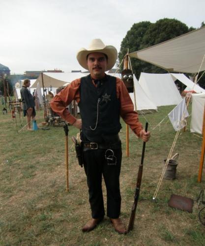 Havré 2019 - Camp ... le sheriff d'Havré-ville