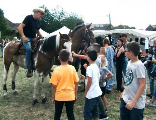 Havré 2019 - Camp ... les chevaux ... émerveillement des enfants