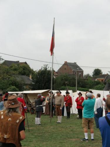 Havré 2019 - Camp ... Cérémonie du lever du drapeau sudiste (suite et fin)