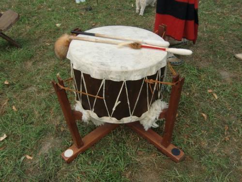 Havré 2019 - Camp ... tambour indien