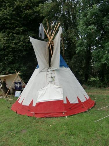Havré 2019 - Camp ... tipi indien