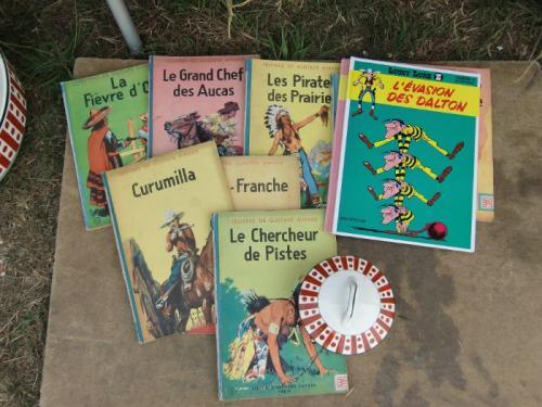 Havré 2019 - Stand d'Etienne ... de la lecture pour les jeunes de 8 à 88 ans