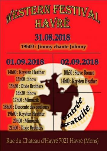 Affiche Havré 2018 programme