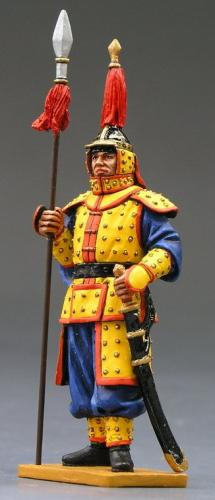IC012 - Standing Guard with Spear