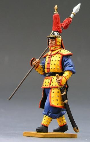 IC013 - Marching Guard with Spear