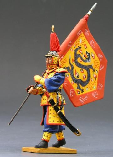 IC014 - Marching Flagbearer