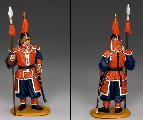 IC064 - Standing Guard with Spear