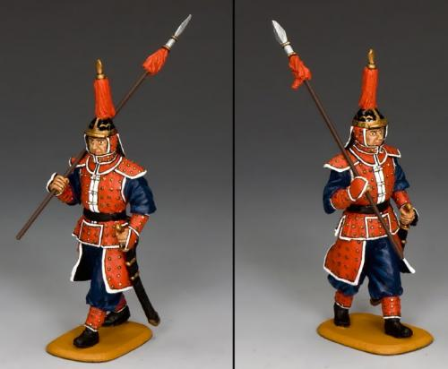 IC065 - Marching Guard with Spear