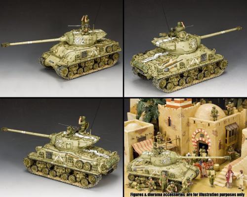 IDF002 - M51 Super Sherman Israeli Tank