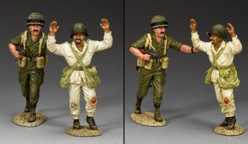 IDF011 - Prisonner and Escort (2-man set)