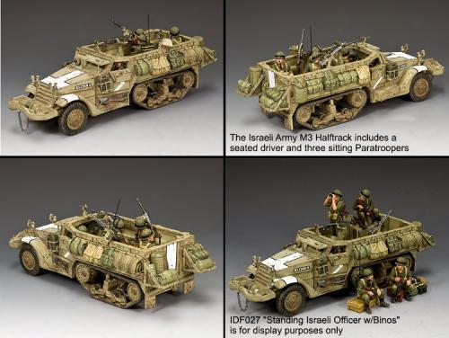 IDF020 - The Israeli Army M3 Halftrack