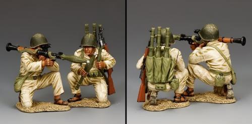 IDF023 - Syrian or Egyptian RPG7 Team