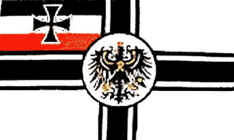 Imperial Germany - Drapeau de guerre de la Confédération de l'Allemagne du Nord, 1867-1871