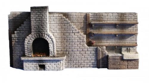 JG Miniatures - C07A - Forge interior