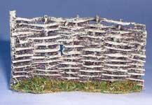 JG Miniatures - C13 - Wicker Fence Section