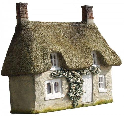 JG Miniatures - C20 - Thatched cottage facade