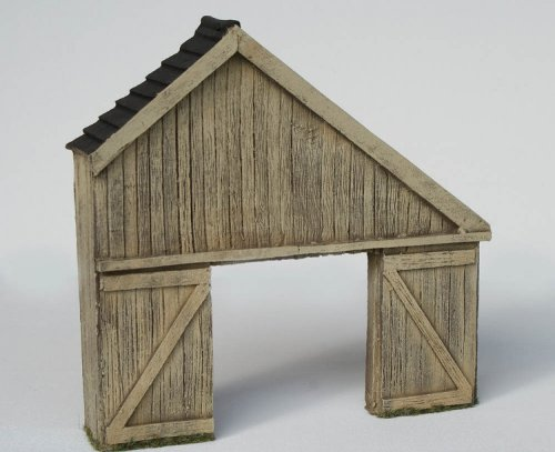 JG Miniatures - C23 - Lean-to timber shed