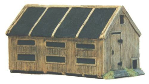 JG Miniatures - C24 - Hen hut