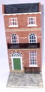 JG Miniatures - C27 - Georgian terraced house (brick)