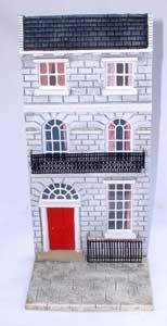 JG Miniatures - C28 - Georgian terraced house (stone)