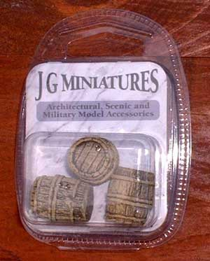 JG Miniatures - C31 - Small Barrels