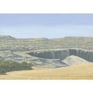 JG Miniatures - D2 - Desert poster (25,4 cm X 35,56 cm)
