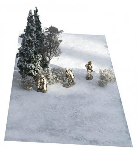 JG Miniatures - FM3 - Snow mat