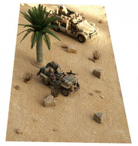JG Miniatures - FM5 - Desert sand mat