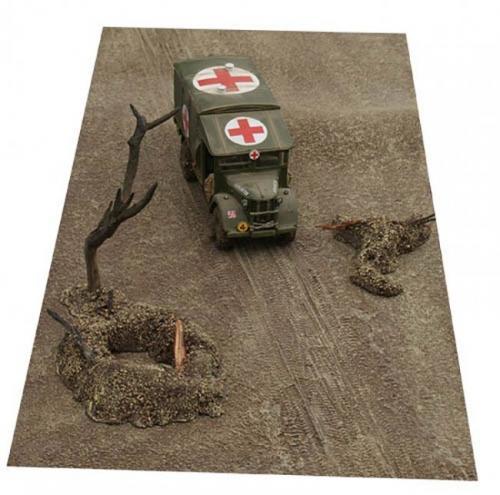 JG Miniatures - FM8 - Mud mat with diagonal tracks