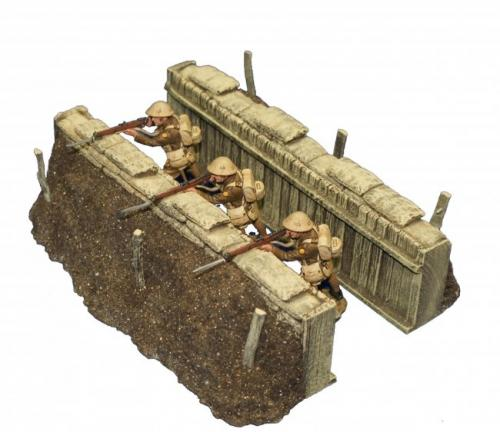 JG Miniatures - M07A - Slit trench