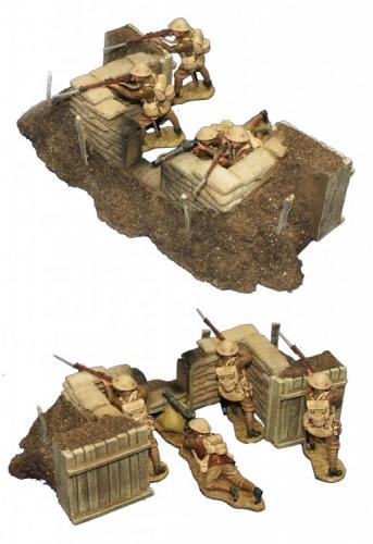 JG Miniatures - M07 - Machine gun nest