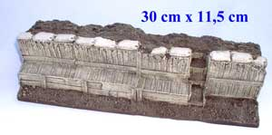 JG Miniatures - M07 - WW1 trench section front (1914-1918 tranchée avant) - article EPUISE 1 dernier exemplaire en stock