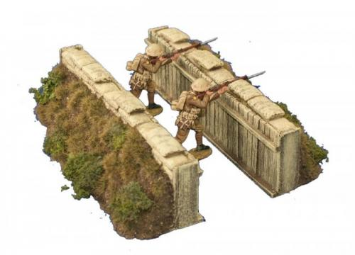 JG Miniatures - M08 a - Slit trench (grass)