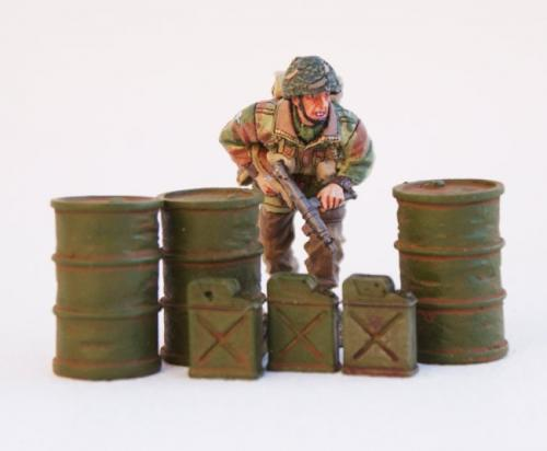 JG Miniatures - M13A - Fuel Dump Green