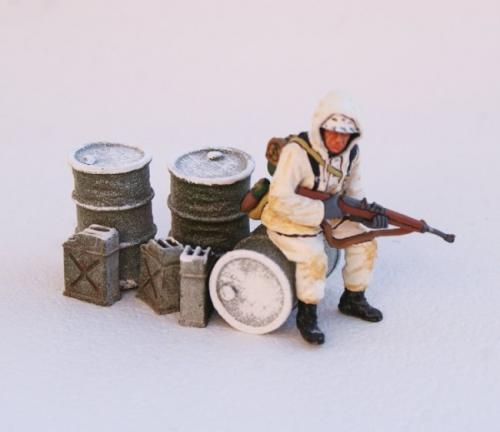 JG Miniatures - M13C - Winter Fuel Dump