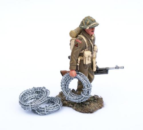 JG Miniatures - M13 - BARBED WIRE