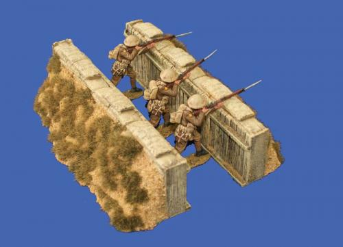 JG Miniatures - M15 a - Slit Trench Set (sand finish)