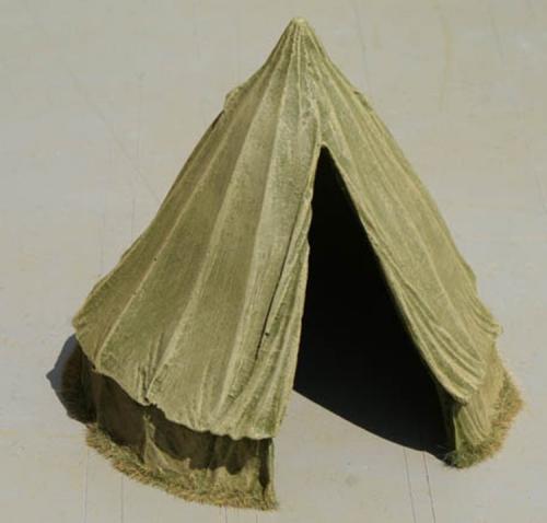 JG Miniatures - M01 a - Bell Tent Green