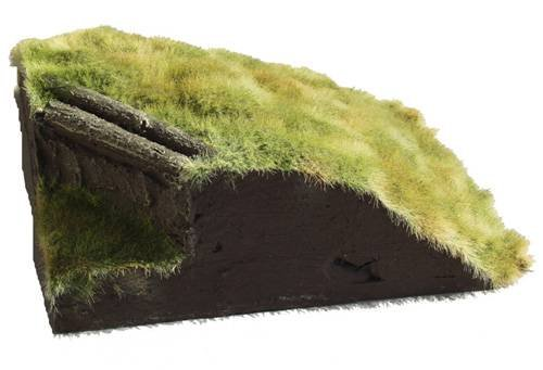 JG Miniatures - M23 - Gun battery corner section