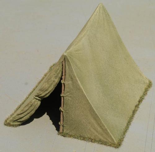 JG Miniatures - M25 - Large Bivi Tent Green