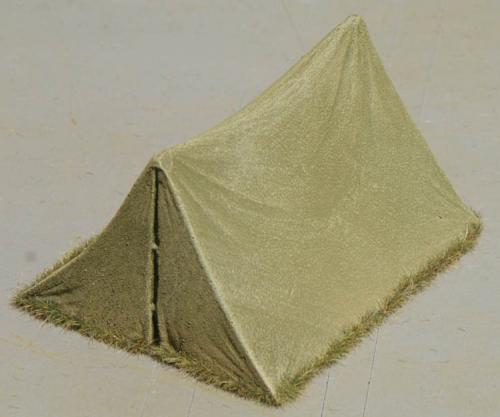 JG Miniatures - M26 - Small Bivi Tent Green