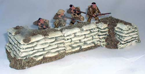JG Miniatures - M28 - M28a - M28b - diorama global avec figurines King and Country