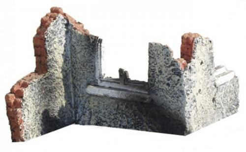 JG Miniatures - M29 a -Ruined walls z section