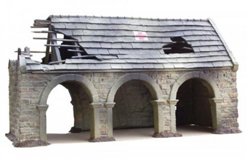 JG Miniatures - M30 - Ruined barn casualty clearing station