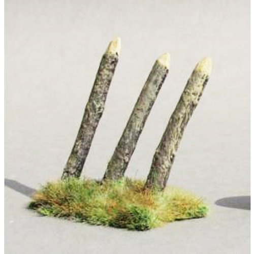 JG Miniatures - M33 - Inclined pale (cavalry defence)