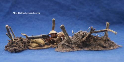 JG Miniatures - M34 - Battleground Earthcopy