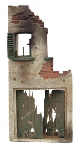 JG Miniatures - M38 f - French ruined house