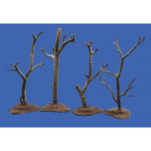 JG Miniatures - M39 - War torn trees each