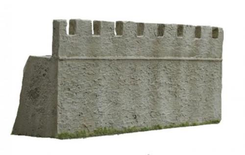 JG Miniatures - M43 a - Roman fort wall section